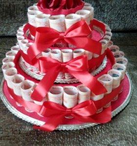 Торт шкатулка
