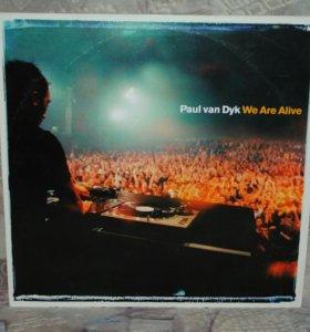 Paul Van Dyk - We Are Alive виниловая пластинка