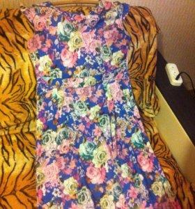 Платье в пол👗👗👗