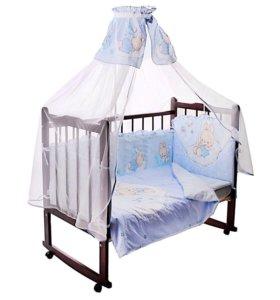 Комплект в детскую кроватку 7 пр