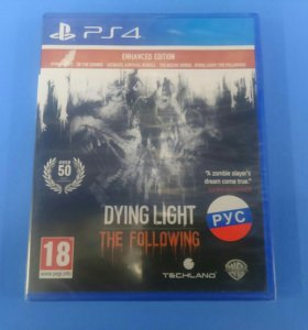 Dying Light The Following (ps4) Новый
