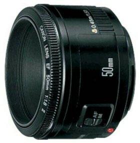 Продаю оъектив Canon 50 mm f1,8