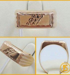 Золотая печатка Б189