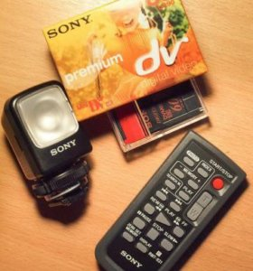 Аксессуары для видеокамеры Sony