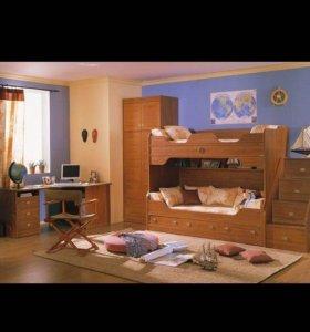 Продам детскую 2 х ярусную кровать