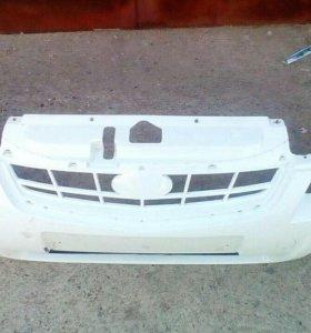 Бампер передний приора