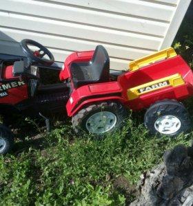 Трактор с педалями
