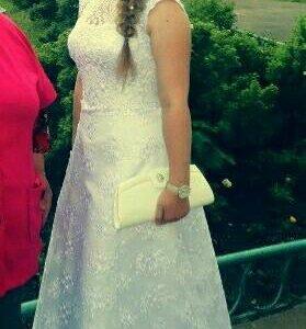 Свадебное - вечернее платье