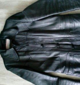 Кожаный пиджак\ куртка