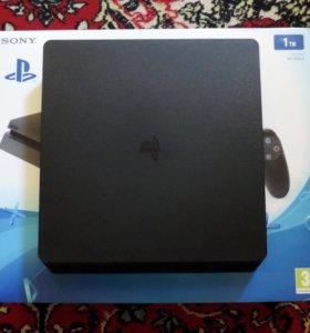 Sony PlayStation 4 Slim 1Tb + 9 игр