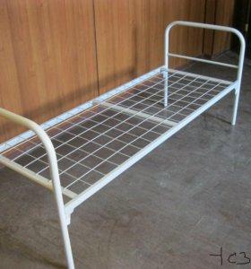 Кровать одноярусная металлическая 1С2