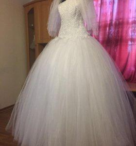 Новое свадебное платье !!!!!!