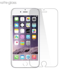 Матовое защитное стекло для iPhone 6 Plus