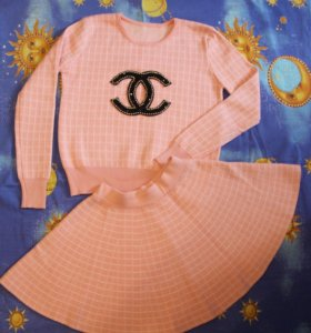 Костюм кофта и юбка