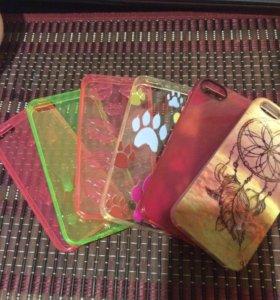 Чехлы новые на iPhone 5/5s