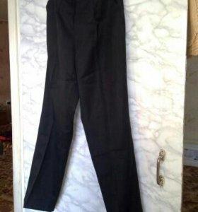 Новые классические мужские черные брюки