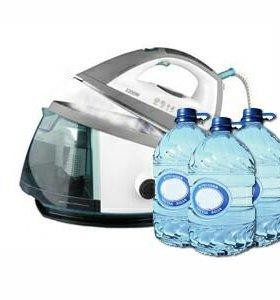 Вода для утюгов ,парогенераторов и отпаривателей