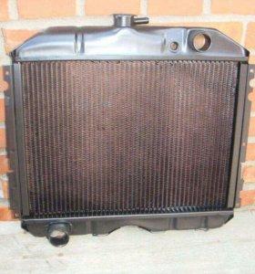 Радиатор, Покрышки, диск, подножка(левая) Газ 3307