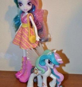 Кукла с пони My Little Pony