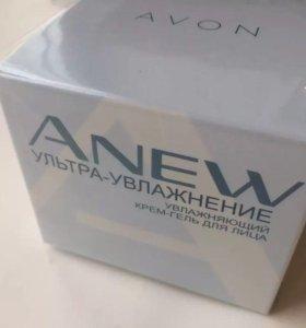 Увл. Крем-гель для лица Anew Avon