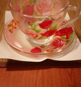 Чайный сервиз новый 8 (или 16) предметов