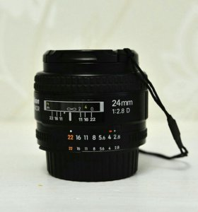 Об'ектив nikon 24mm f2,8D nikkor