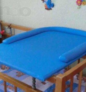 Доска пеленальная на кроватку