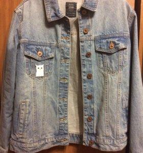 Куртка джинсовая oversize Bershka