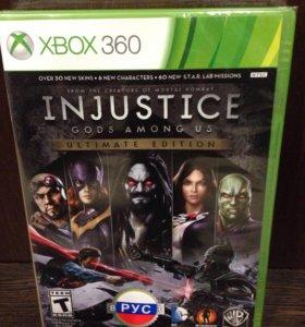 Injustice ultimate Edition Xbox 360 (Новый)
