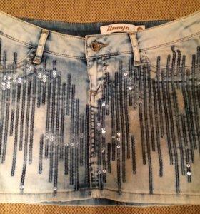 Юбка AMN джинсовая