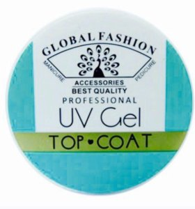 Global Fashion UV Gel Top Coat 15 г