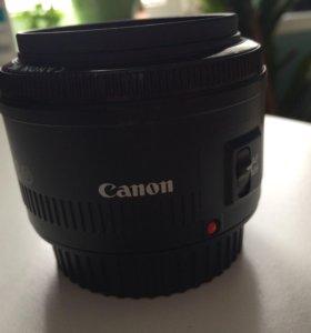 объектив canon портретный 50mm