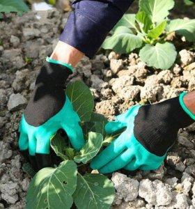 Садовые перчатки с когтями Garden Genie gloves!!!!