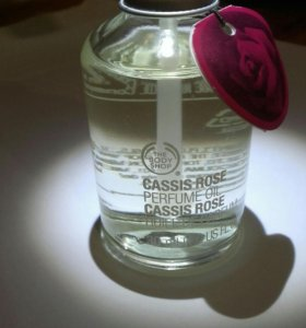 The Body Shop Cassis Rose oil
