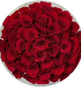 Букет 51 красных роз