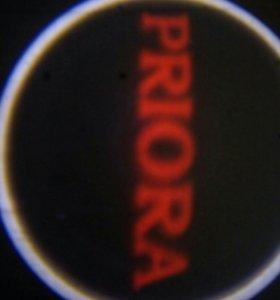 Приора проекция логотипа