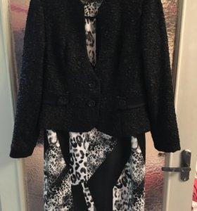 Костюм: пиджак+платье