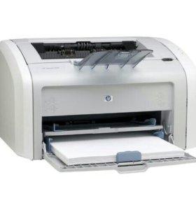 Принтер лазерный HP 1018/1020