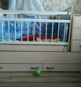 Кроватка от 0 до 12 лет