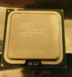 Intel Pentium D 945 (3400MHz, LGA775, L2 4096Kb)