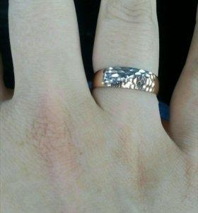 Кольцо золотое. 585