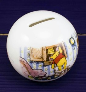 Копилка Винни Пух, костяной фарфор, Англия