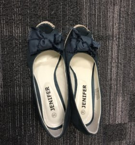 Босоножки туфли на танкетке Jenifer