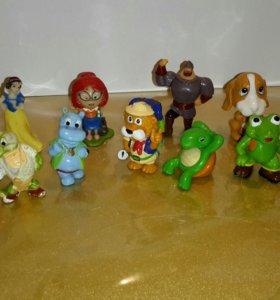 Киндер сюрприз игрушки