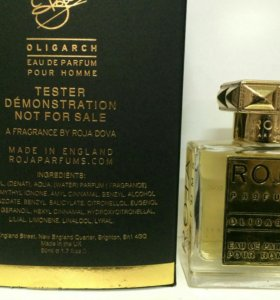 тестер Roja Parfums Oligarch pour Homme,50мл