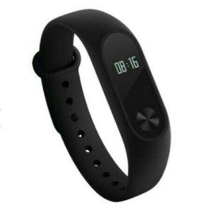 Фитнес-браслет Xiaomi Mi Band 2 черный + красный