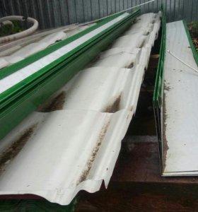 Металлочерепица+конек и ветровые планки