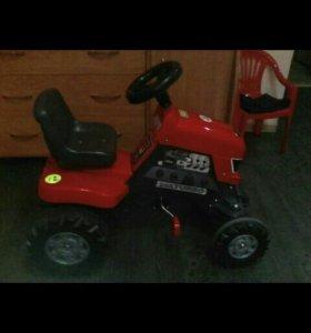 Детский мини трактор