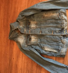 Джинсовая курточка Zara kids