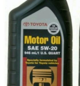 Моторное масло Toyota Motor Oil 5W20 946мл